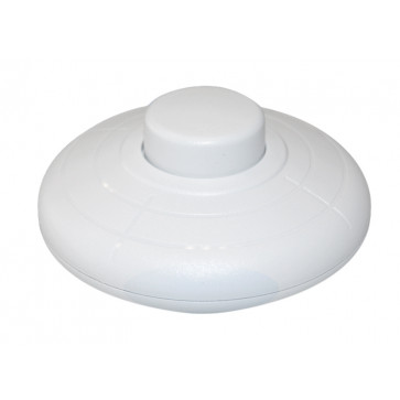 Clavijas, bases e interruptores | Interruptores | Interruptor de pie blanco 2A (GSC 1101096)