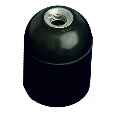 Portalámparas | Portalámparas plásticos | Portal�mparas liso econ�mico negro (GSC 2201262)