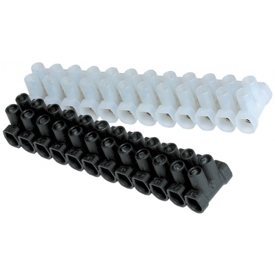 Conectores | Regletas de conexión | Regleta de conexi�n calidad superior blanco 16mm. (Miarco 13471)
