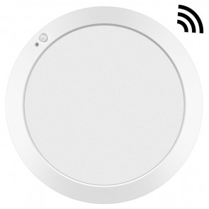 Downlight Led redondo empotrable o superficie Monet con sensor 18W 4000°K 215x13mm. (ALG 67037)