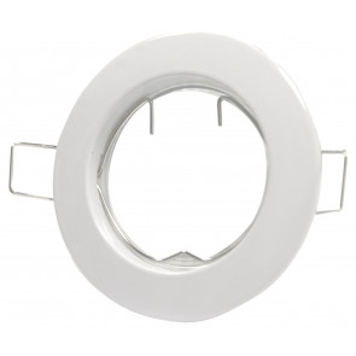 Aro basculante empotrable blanco Øcorte: 75mm. con portalámparas GU10 (GSC 0700658)
