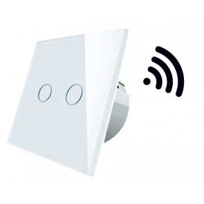Interruptor de luz doble Smart (Spectrum WOJ+05416)