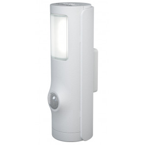 Luz de noche Led Nightlux Torch White exterior 10Lm IP54 (Osram 4058075027237)