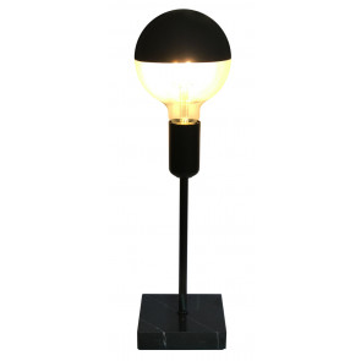 Lámpara de sobremesa de mármol bombilla vista E27 (F-Bright 1900801)