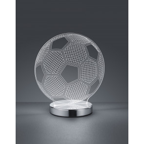 Lámpara de sobremesa modelo Pelota de fútbol regulable en temperatura 7W 400Lm (Trio Lighting R52471106)