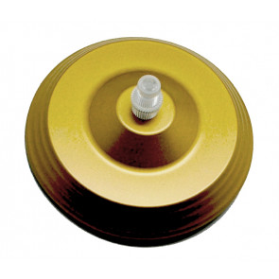 Florón metálico decorativo dorado 300W (F-Bright 1301026) - 2.5x12cm.