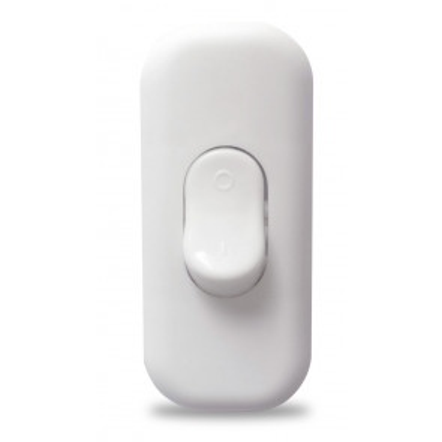 Interruptor de paso blanco 4A 250V (GSC 1103385)
