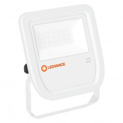 Proyector exterior Led Floodlight blanco 10W 3000°K IP65 (Ledvance 4058075097384)