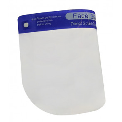 Máscara protectora facial certificada
