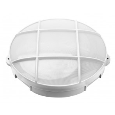 Aplique Led exterior oval blanco modelo Oxalis 15W 6000°K IP65 (GSC 200205005)