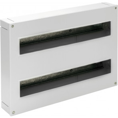 Caja para distribución de superficie hasta 38 elementos 410x270x68mm. (Solera 5216)
