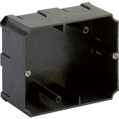 Caja de empotrar para montar la base de enchufe 6837 97x80x42mm. (Solera 733)