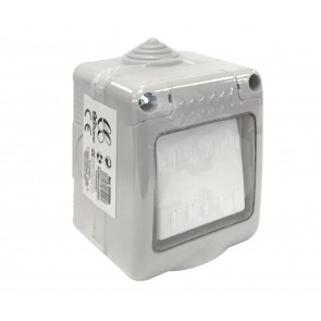 Interruptor estanco con tapa IP55 (B&B 041000)