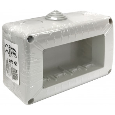 Caja modular de superficie 4 módulos (B&B 041021)
