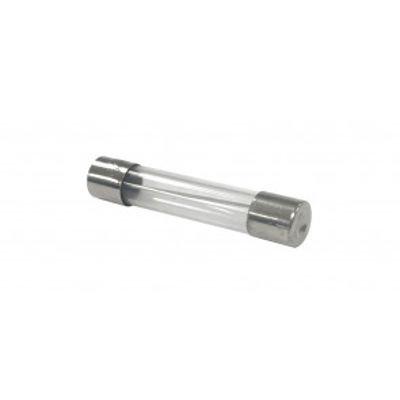 100 ud. de fusibles cilíndricos de cristal 6x24mm. 10A