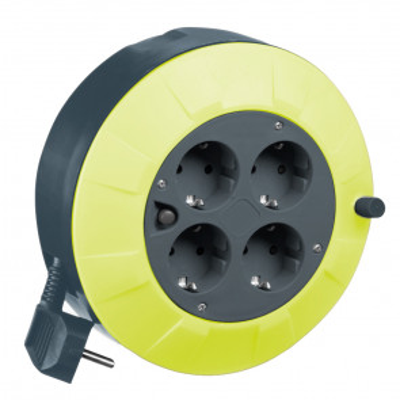 5m. extensible eléctrico 4 tomas 3x1,5mm. IP20 (GSC 100510000)