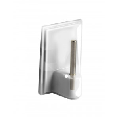 4 ud. perchas plásticas adhesivas especiales para visillos (Köppels P1002T) (Blíster)