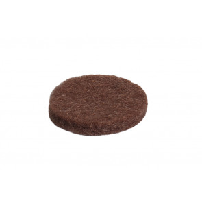 5 ud. deslizador de fieltro redondo adhesivo ø35mm. (Köppels F1005M) (Blíster)