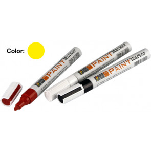 Rotulador permanente Paint Marker amarillo 7 ml. (Faren 861GIA)