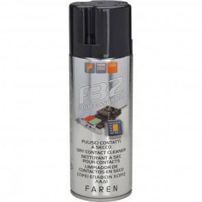 Spray limpiador de contactos en seco F32 400 ml. (Faren 1AP400)