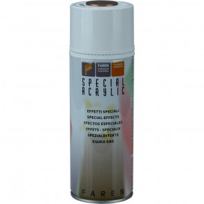 Spray de pintura efecto oro pálido 400 ml. (Faren 7VD400)