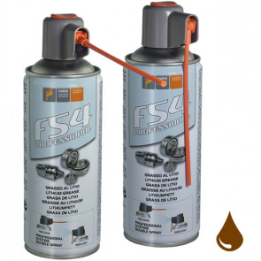Spray lubricante de grasa de litio con difusor largo F5 4400 ml. (Faren 959SDESPPT)