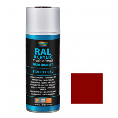Spray de pintura naranja sangre RAL 2002 400 ml. (Faren 6VH400)