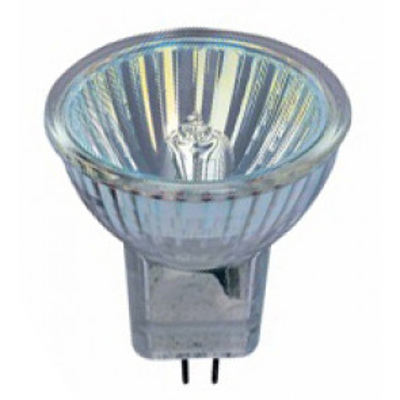 Lámpara halógena dicroica MR11 GU4 10W 12V 2800°K 90Lm 36° 34x40mm. (Osram 443935) (Caja)