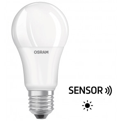 Lámpara standard Led Star con sensor crepuscular 10W 2700°K 1055Lm (Osram 4058075428287)