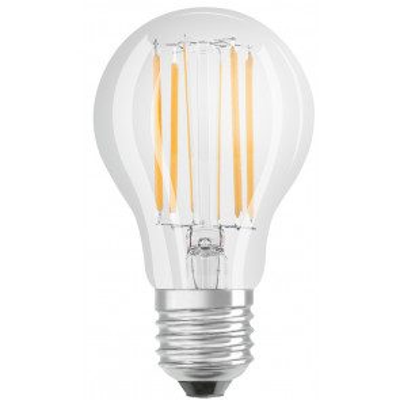 Lámpara standard cristal Led clara Retrofit 11W 4000°K 1521Lm (Osram 4058075435285)