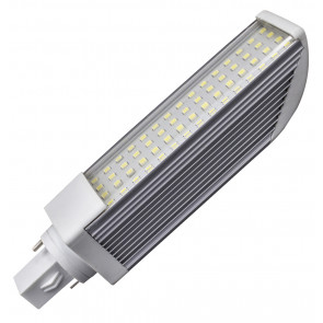 Lámpara Led PL 2 pins G24 11W 4200°K 870Lm 120° 35x160mm. (GSC 2001195)