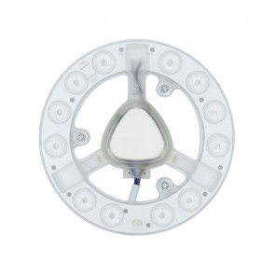 Placa Led con imán para plafón clásico 12W 1050Lm 6500°K ø141mm. (GSC 200635000)