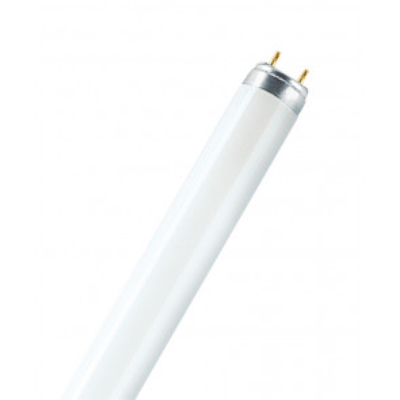 Tubo fluorescente T8 Trifósforo Lumilux G13 15W 2700°K 950Lm 26x438mm. (Osram 446042)