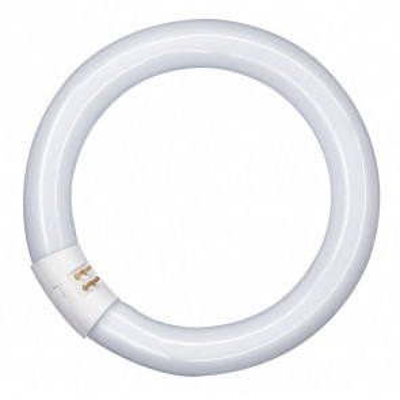 Tubo fluorescente circular Trifósforo Lumilux 22W 4000°K 1350Lm 29x216mm. (Osram 581082)