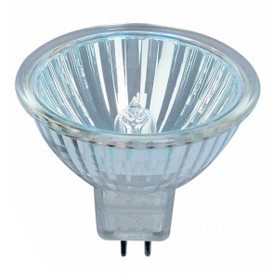 Lámpara halógena dicroica MR16 GU5,3 35W 12V 2900°K 430Lm 36° 46x51mm. (Osram 272634) (Caja)