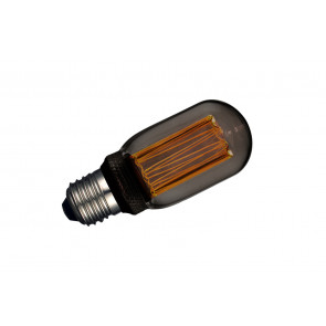 Lámpara tubular T45 filamento Led efecto incandescente smoky 4W 1800°K (F-Bright 2601219-S)