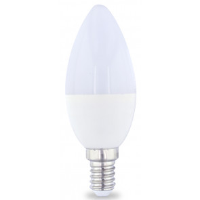 Lámpara vela Led E14 4W 3000°K 470Lm 37x98mm. GSC (2001557)