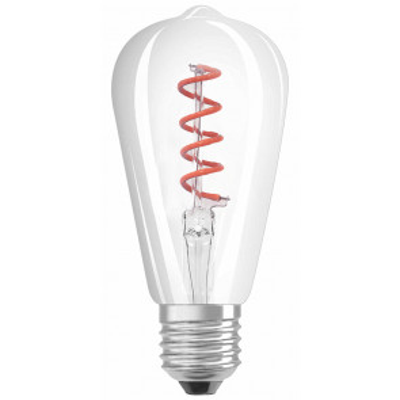 Lámpara pera filamento Led rosa E27 4W (F-Bright 2601449-RO)