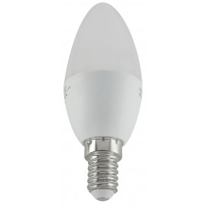 Lámpara vela Led E14 4,5W 3200°K 350Lm 35x103mm. (DH 81.145/CAL)