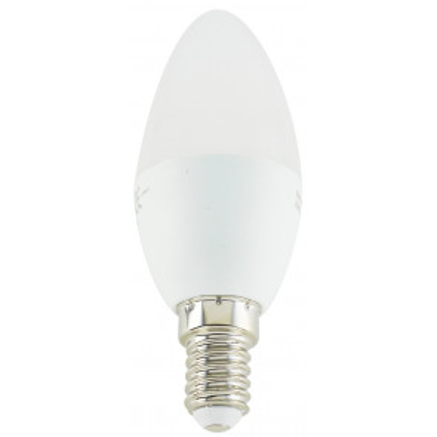Lámpara vela Led E14 5W 6500°K 440Lm 200° 35x100mm. (Electro DH 81.145/5/DIA)