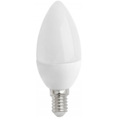 Lámpara vela Led E14 4W 2700°K 300Lm 160° 37x103mm. (Spectrum WOJ13034)