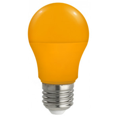 Lámpara Standard Led naranja E27 5W  (Spectrum WOJ14114)