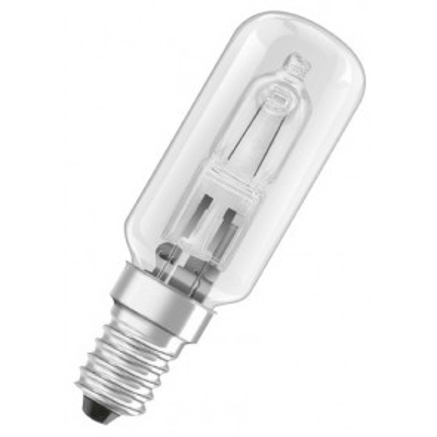 Lámpara tubular Halolux T para frigoríficos  60W E14 26x80mm. (Osram 204509)