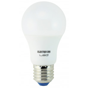 Lámpara standard Led E27 6,5W 6500°K 500Lm 200° 55x101mm. (DH 81.192/DIA)