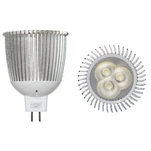 Lámpara dicroica Led MR16 GU5,3 7W 5700°K 235Lm 45° 50x59mm. (B&F 119019-7F)