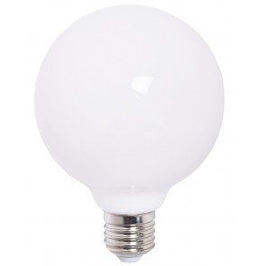 Lámpara globo filamento Led cristal mate 8W 1000 Lm 3000°K 125x175mm. (F-Bright 2601786)