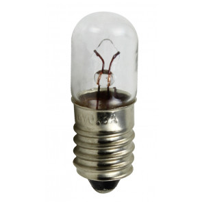 Lámpara de emergencia E10 12V (Electro DH 12.350/12/0´1)