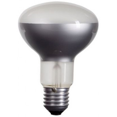 Lámpara halógena reflectora mate E27 60W ø63mm. (CLAR11666)