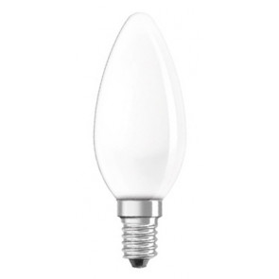 Lámpara incandescente vela mate 25W E14 (Clar 11212)