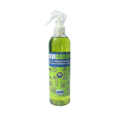 Limpiador para mobiliario de jardín con bioalcohol 70% 500ml. Revi-Garden (Revimca RH1321)